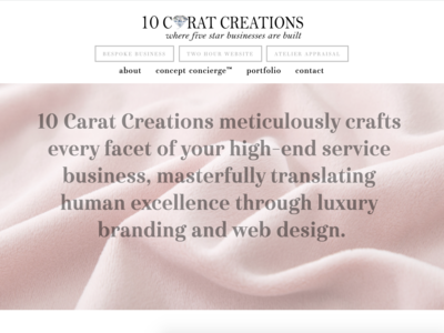 10 Carat Creations Website