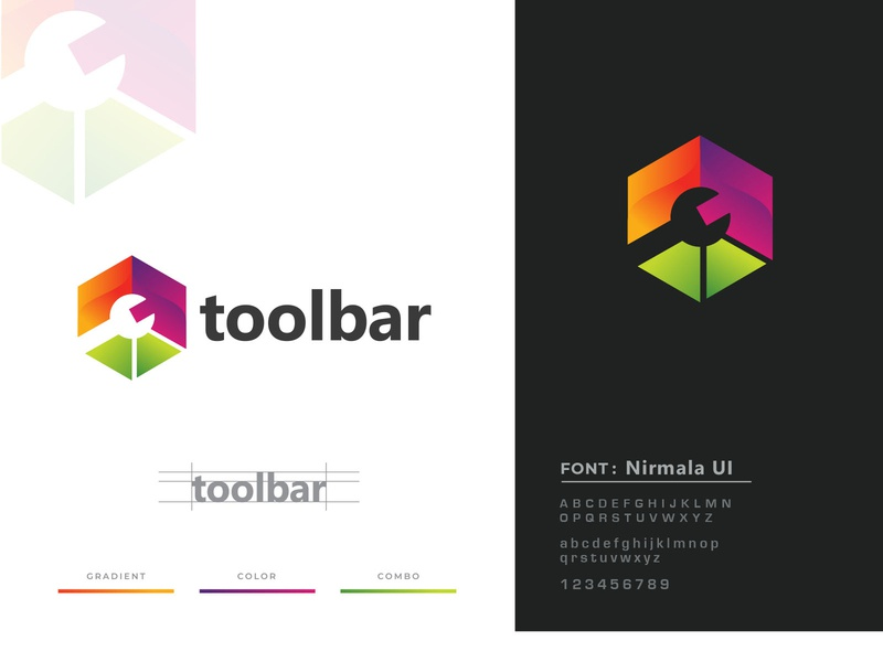 toolbar awesome cool professional simple logo design modern tools equipment bar toolbar tool minimalist logo logodesign minimalist creative identity favicon brand logo logotype