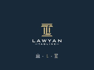 Law Firm Logo creative logo lawyers firm logo firm law firm lawyer law logo design logodesign emblem minimalist logo icon minimalist creative favicon logotype logo identity brand