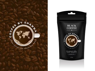 Coffee Logo cafe packaging bean coffee branding graphic design ui illustration design minimalist creative favicon logotype logo identity brand