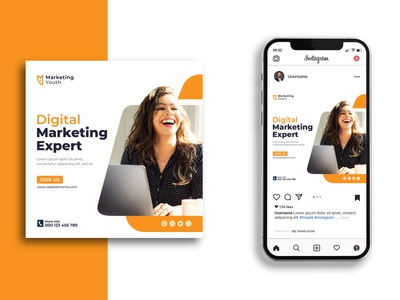 Social Media Marketing Post Design stationery print graphic design design post marketing media social minimalist creative favicon logotype logo identity brand