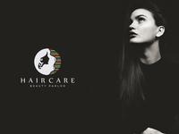 Girls Hair Care Logo Design