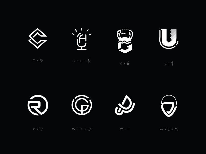 Creative Logo Design Collection 01 brand identitydesign identity emblem favicon icon design icons icon minimalist logo minimalist creative creative  design logos logodesign logotype logo