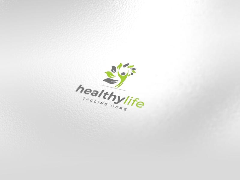 Iconic / Healthy Logo Design positive healthyfood fitness fit healthy iconic minimalist logodesign icon design creative identity icon favicon brand logo logotype