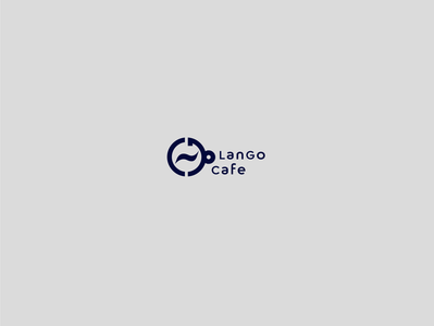lango cafe brand design