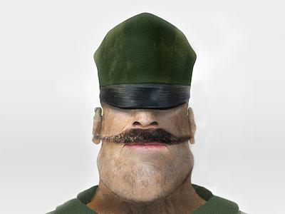 General general sketch movie hero cartoon character