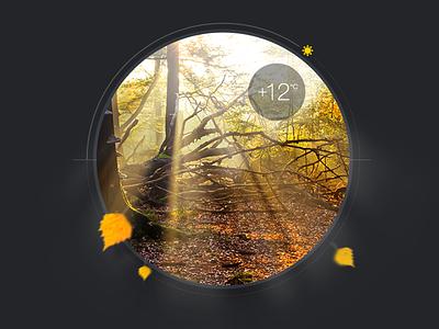 Weather Widget widget mac c weather yellow sun