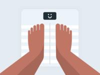 Happy Scale · Illustration