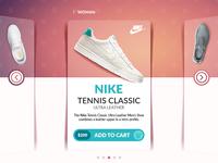 Sneaker Shopping Cards UI exercise (REBOUND)