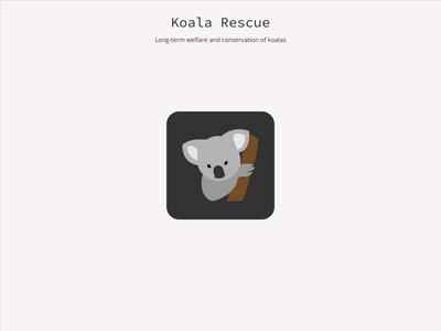 App Icon koala - #DailyUI 005