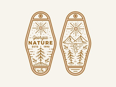 "Key Tag ""Nature."" (Available)"