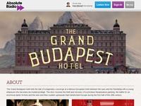 (2013) The Grand Budapest Hotel - Responsive Microsite