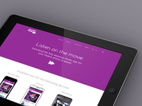(2013) App Download Page - Absolute Radio