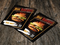 Poster for restaurant Hot Burger