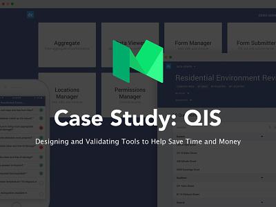 Case Study: QIS story ux ui product design web app app case study medium article