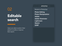 02 - Editable Search