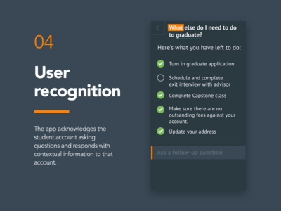 04 - User Recognition education campustalk iphone ios app mobile design product design product ux ui