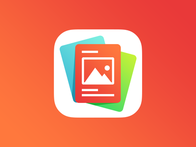 Stack app icon project school news stack gradientsbitch