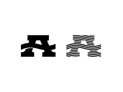 Custom A lettering type a custom