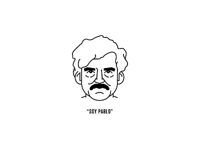 Pablo illustration narcos wagner moura escobar pablo