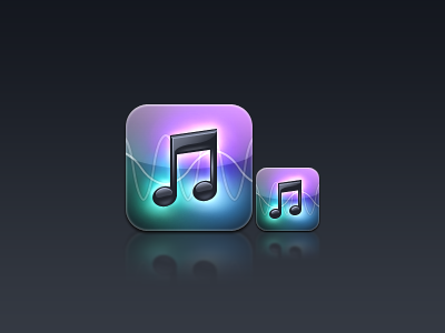 Music / iPod - Avant 2 HD iphone theme icon set icons avant