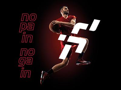 Sandra Nascimento Personal Trainer sprint gym social media visual identity personal branding design personal trainer logo design fitness