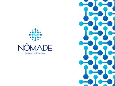 Nômade Indústria Criativa   Nomad Creative Industry creative industry connections sphere visual identity identidade visual design logo design