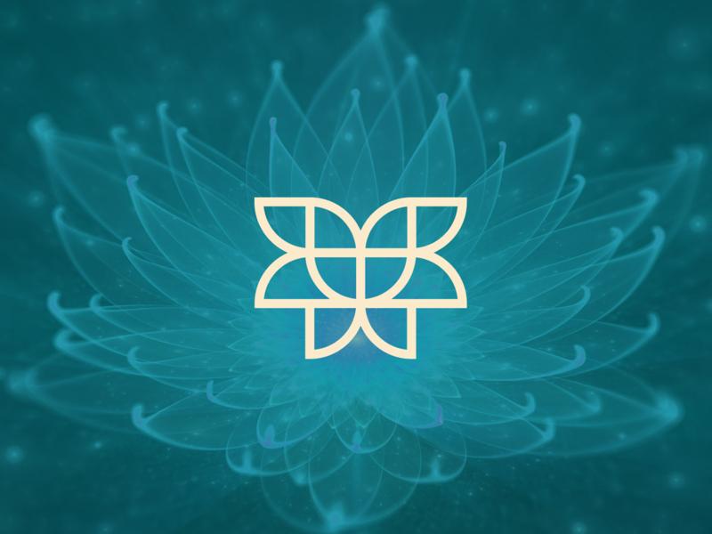 Fernanda Borges Psicóloga psychology logotype psicologia identidade visual logo design logo