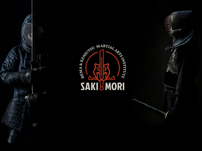 Sakimori Martial Arts tiger martial arts kendo logotype visual identity logo design logo