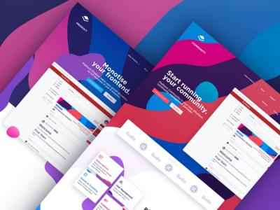 Platform – Landing Pages (Sneak Peek)