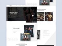 HX Fitness Homepage