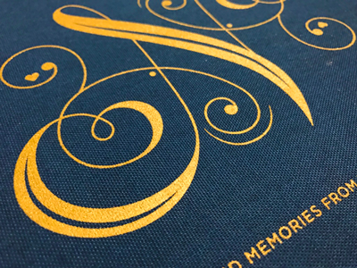 Remembering Nora bookmaking screen printing lettering illustration n book cover dropcap