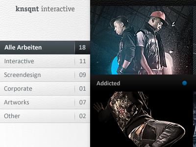 knsqnt corporate style-force knsqnt interactive