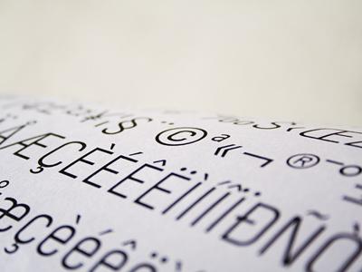 Denom 3 style-force semplice denom type font sans-serif