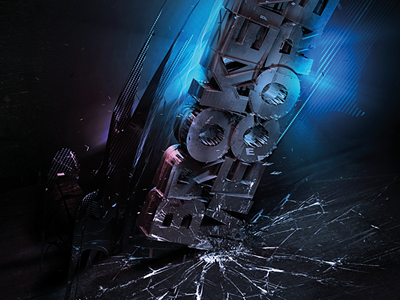 Broken style-force broken mecore semplice