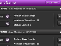 Web App Admin Panel