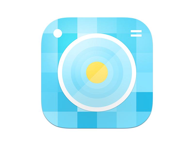 Reconiz App Icon branding app icon icon camera reconiz icons entertainment ios