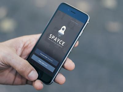 Welcome to Spayce spayce minimal clean flat simple ui ios7 ios iphone ux space spaceship