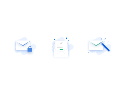 Pictograms secure login illustrations pictograms icons security magic link ux design mobile ui web design small business invoices invoice design email