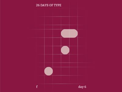 f : 26 Days of Type