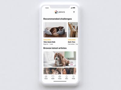 Paws Mobile Concept