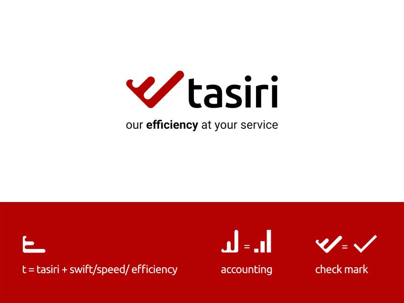 Tasiri branding typography minimal letter initial minimalist logo designer logo identity brand