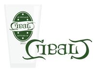 Cobalt Ambigram Glass 2013