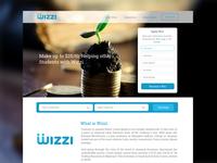 Website UI Design for Wizzi App