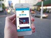 Social App Profile Page UI Design