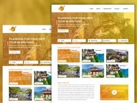 Airline Company Web Page UI Design