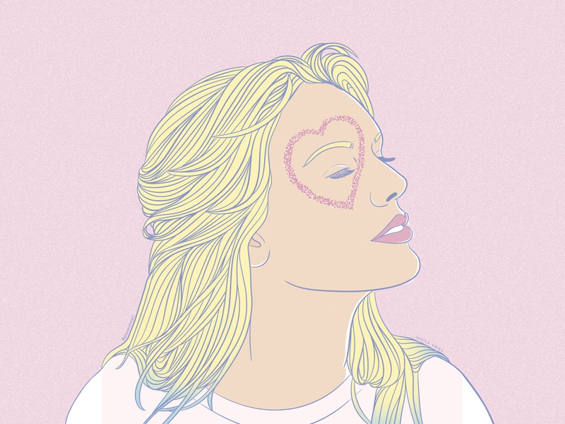 LOVER PT 2 icon taylor swift pastel colors vector fashion art illustrator fashion aesthetic typography desenho design vaporwave branding ilustracion ilustração illustration digital art  entertainment art digital art