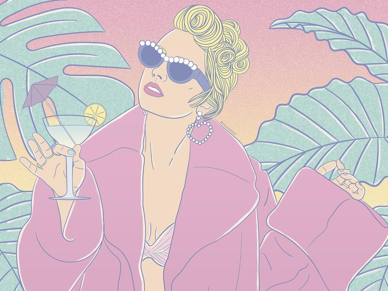 YNTCD taylor swift pastel colors fashion art illustrator fashion vector aesthetic design desenho vaporwave branding digital illustration ilustração art  entertainment art digital art