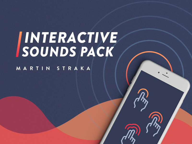 Cover for Interactive Sounds Pack interactive gestures wave cover music audio sound