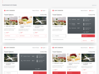 Air canada kiosks dribbble